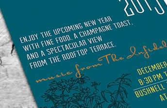 New Years Invite